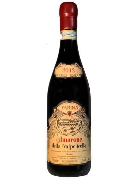 Farina Amarone della Valpolicella classico DOCG 2012