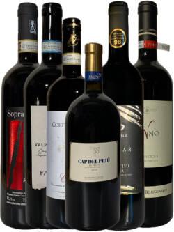 Kennenlernpaket italienische Rotweine